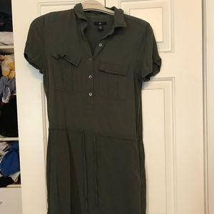 Green Utility Dress